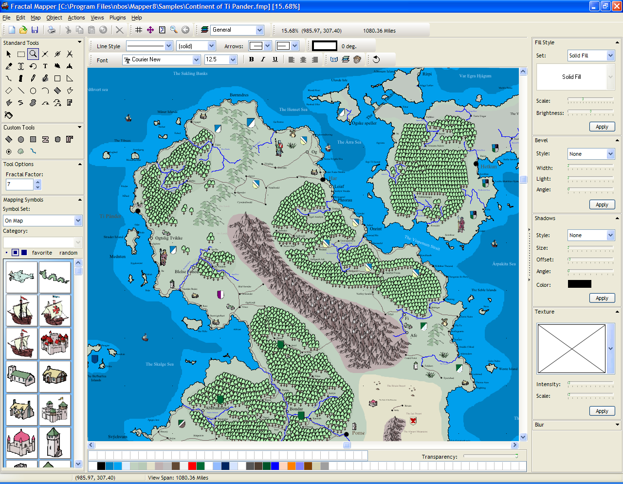 Nbos software fractal mapper 80 screen shots example fantasy continent gumiabroncs Images